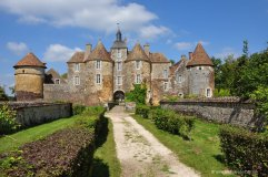 Castle of Ritally, Burgundy